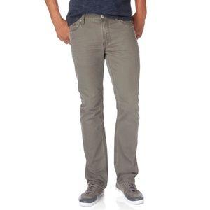 Aeropostale Slim Straight Leg Jeans Gray 36x32
